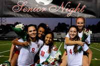 10/08/16 Girls Soccer V Senior Night