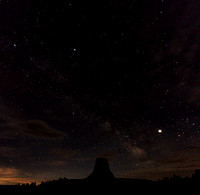 Devils Tower Milky Way 1491